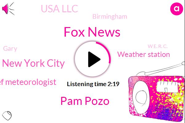 Fox News,Pam Pozo,New York City,Chief Meteorologist,Weather Station,Usa Llc,Birmingham,Gary,W E. R. C.,J P.