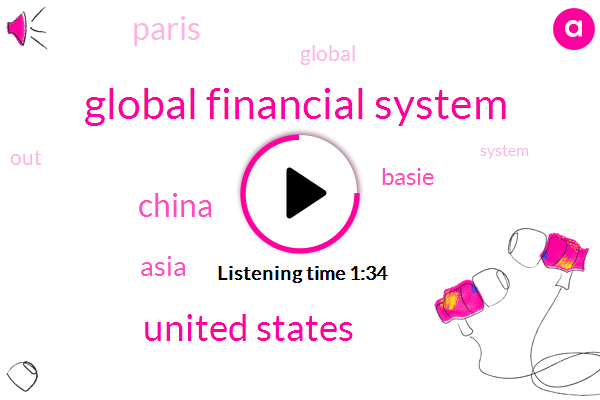Global Financial System,United States,China,Asia,Basie,Paris