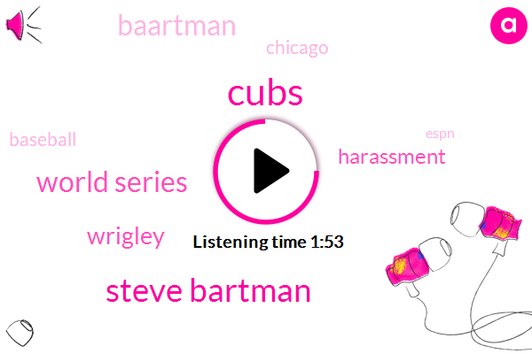 Cubs,Steve Bartman,World Series,Wrigley,Harassment,Baartman,Baseball,Chicago,Espn,Neil