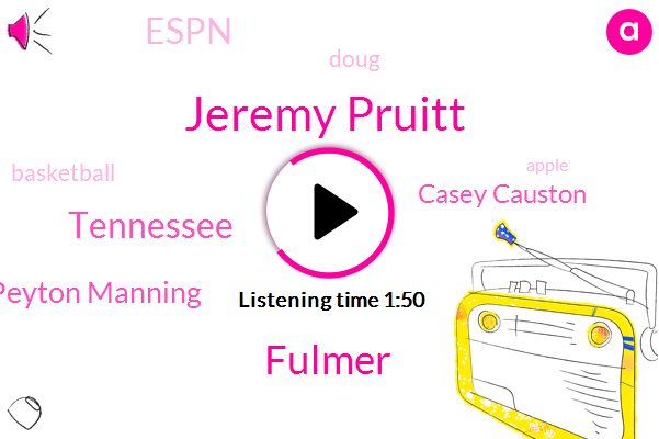 Jeremy Pruitt,Fulmer,Tennessee,Peyton Manning,Casey Causton,Espn,Doug,Basketball,Apple,Phil,Jeremy