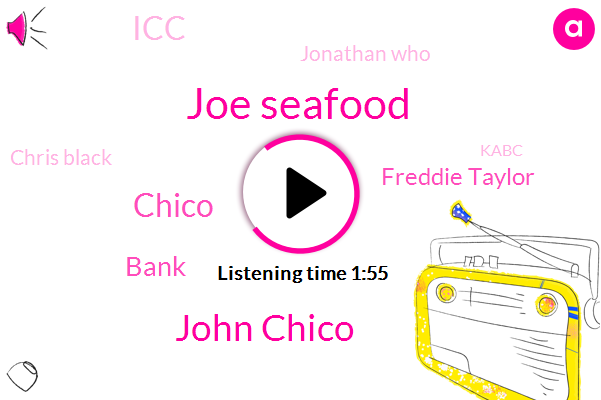 Chicago,Joe Seafood,John Chico,Espn,Chico,Bank,Freddie Taylor,ICC,Jonathan Who,Chris Black,Kabc,Football,Adam,Fdic,Carmen,DON