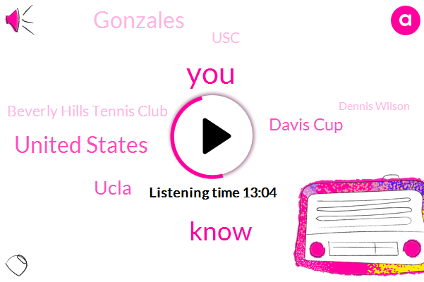 United States,Tennis,Ucla,Davis Cup,Gonzales,USC,Beverly Hills Tennis Club,Dennis Wilson,Us Army,Vietnam,Thomas Edison,Donald Dell,Dennis Ross,Ramsey Earnhardt,Punch Gonzales,Southern California,Marty Riessen,Army