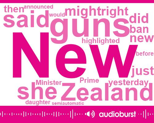 Listen: New Zealand PM announces assault weapons ban