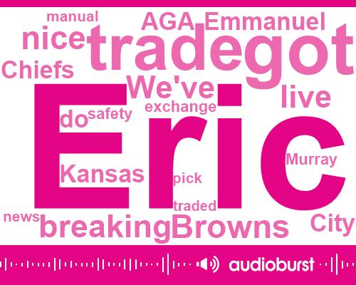 Browns,Kansas City Chiefs,Eric Murray,Eric Berry,Emmanuel Aga,RON,Aqaba,Derek,NFL,Dorsey
