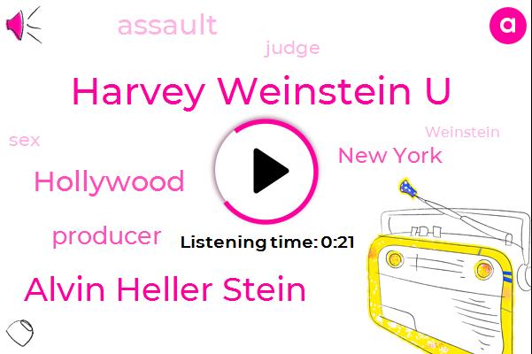 Listen: Judge allows sex-trafficking claim against Harvey Weinstein