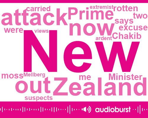 New Zealand,Mellberg. New Zealand,Ben Tracy,United States,Prime Minister,Arden,Christ Church,Department Of Homeland,CBS,John Cohen,Coordinator