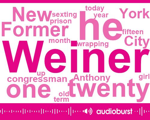 Listen: Anthony Weiner must register as a sex offender