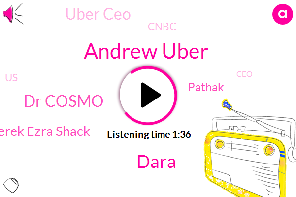 Andrew Uber,Uber Ceo,Dara,Dr Cosmo,United States,Derek Ezra Shack,CEO,New York,Pathak,Cnbc