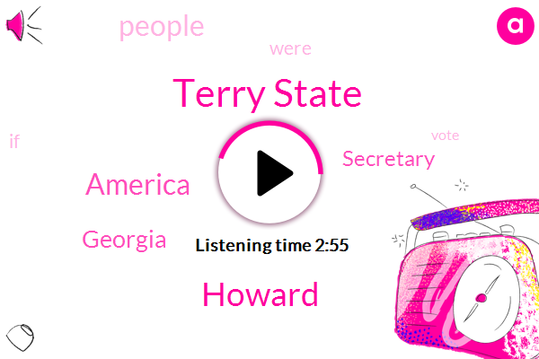 America,Georgia,Secretary,Terry State,Howard,Ten Years