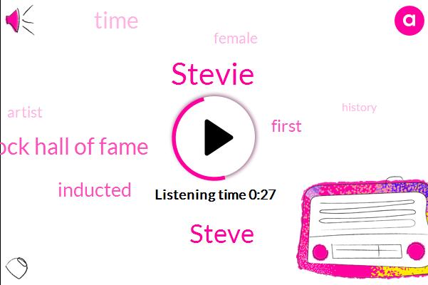 Rock Hall Of Fame,Stevie,Steve