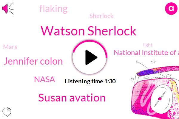 Watson Sherlock,Susan Avation,Nasa,Jennifer Colon,Flaking,National Institute Of Aerospace