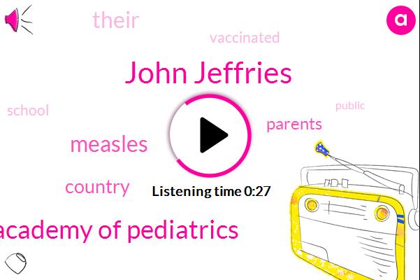 Listen: New measles vaccine rules enforced as school year begins