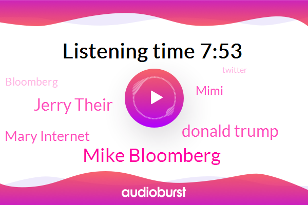 Bloomberg,Twitter,Mike Bloomberg,Instagram,Donald Trump,New York Times,Tech Reporter,Oliver Websites,Lamborghini,Chevy,Jerry Their,Facebook,Macau,Mary Internet,Munich,Mimi