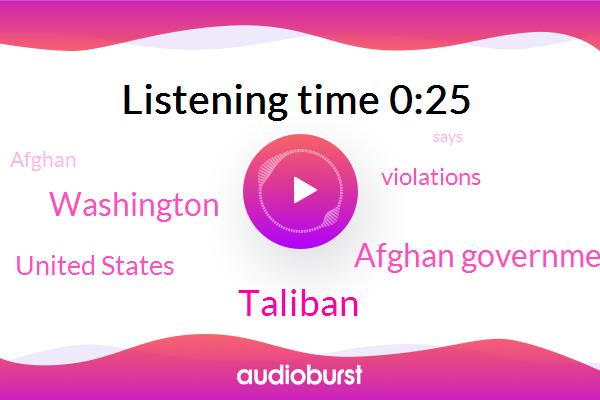 Taliban,United States,Washington,Afghan Government