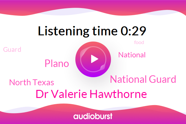 National Guard,Plano,Dr Valerie Hawthorne,North Texas