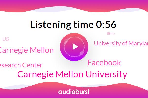Carnegie Mellon University,Facebook,Carnegie Mellon,Delfi Research Center,University Of Maryland,United States