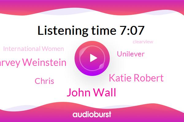 Unilever,International Women,Clearview,French National Women,John Wall,Katie Robert,Facebook,Harvey Weinstein,Chris,Testosterone