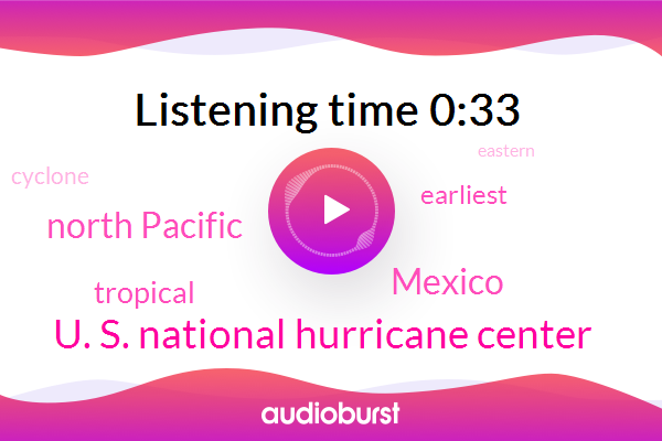 Mexico,U. S. National Hurricane Center,North Pacific