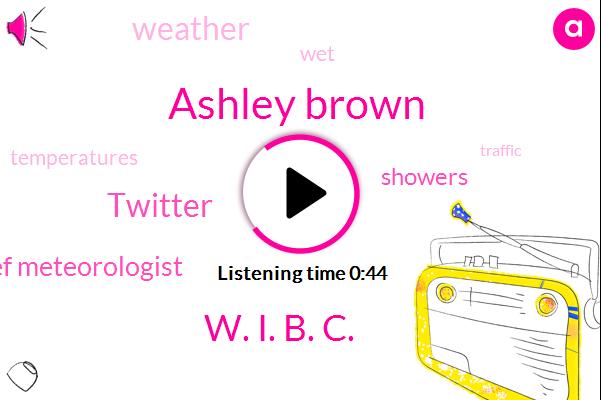 Ashley Brown,Twitter,W. I. B. C.,Chief Meteorologist