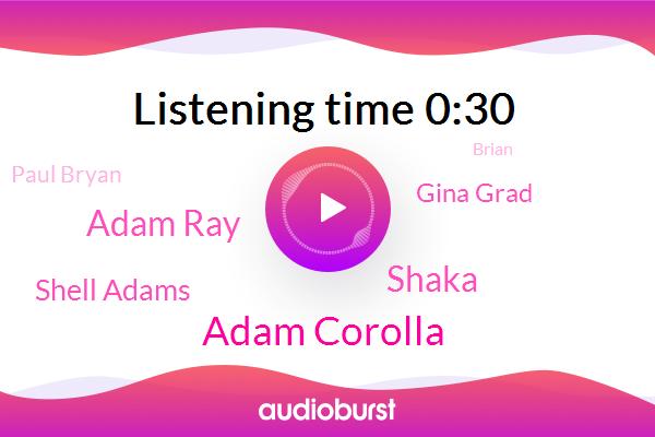 Adam Corolla,Shaka,Adam Ray,Shell Adams,Gina Grad,Paul Bryan,Brian