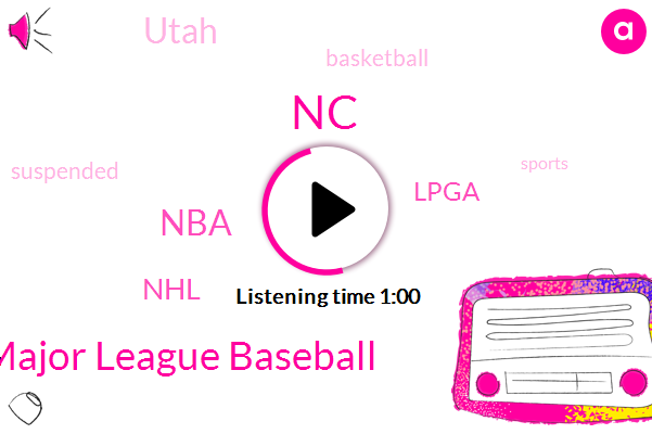 NC,Major League Baseball,NBA,NHL,Lpga,Basketball,Utah