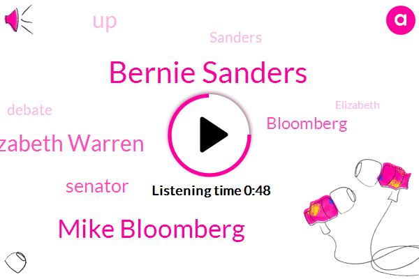 Bernie Sanders,Mike Bloomberg,Senator Elizabeth Warren,Senator