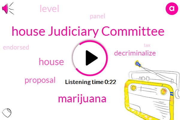Listen: House committee approves bill to federally legalize marijuana