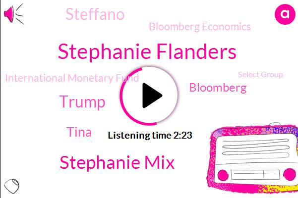 Bloomberg,Bloomberg Economics,Stephanie Flanders,Stephanie Mix,International Monetary Fund,Buenos Aires,Snidey,Steffano,Spain,President Trump,Beijing,Donald Trump,Tina,California,Select Group,Eighty Two Weeks,Twenty Percent,Three Weeks