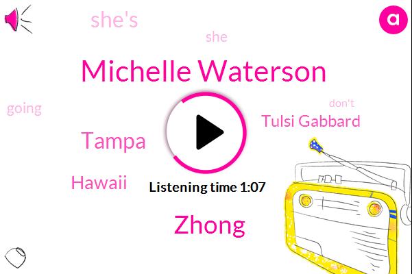 Michelle Waterson,Tampa,Zhong,Tulsi Gabbard,Hawaii