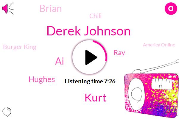 Derek Johnson,Kurt,United States,Burger King,Bacne Day,America Online,AI,Disney,Founder,Ansa Burger King,Virtual Assistant,Hughes,RAY,Brian,Chili,Exprienced