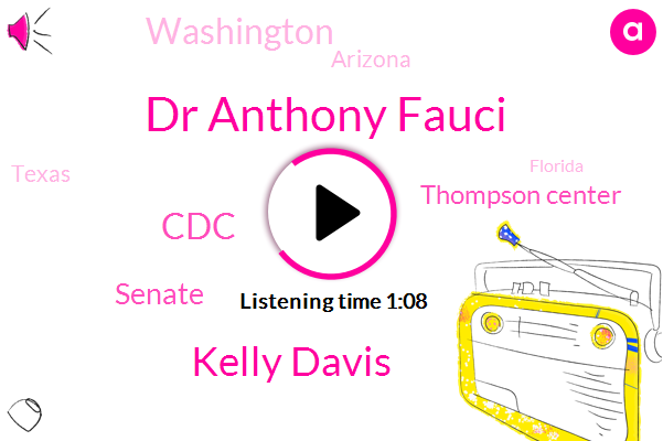 CDC,Dr Anthony Fauci,Thompson Center,Kelly Davis,Senate,Washington,Arizona,Texas,Florida