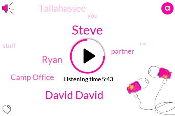Steve,David David,Camp Office,Partner,Tallahassee,Ryan