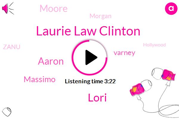 Laurie Law Clinton,Lori,Aaron,Zanu,Rowing,Massimo,Varney,Hollywood,Moore,Montana,Morgan