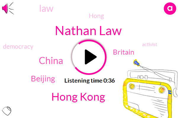 Nathan Law,Hong Kong,China,Beijing,Britain