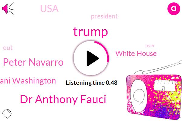 White House,Dr Anthony Fauci,USA,Peter Navarro,President Trump,Ani Washington,Donald Trump