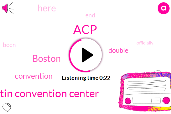 Boston,Austin Convention Center,ACP