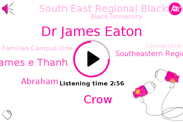 Dr James Eaton,Crow,Southeastern Regional Black Archives Research Center And Museum,South East Regional Black Archives Research Center,James E Thanh,Professor,Professor Of History,Florida,Director,Elsner,Black University,Chair Of The History Department,Families Campus One,Carnegie Library,Florida University,Inter Library,Abraham,FAM,Tallahassee,America