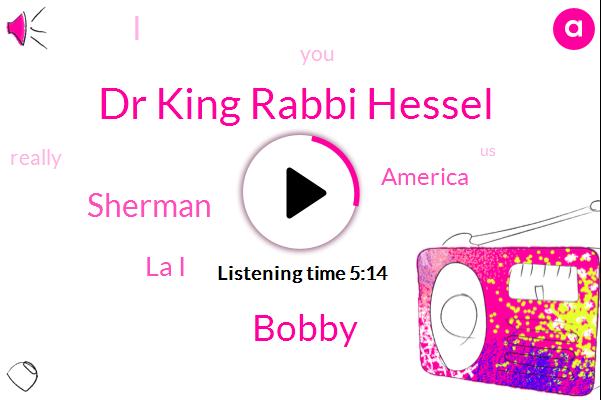 Dr King Rabbi Hessel,La I,America,Bobby,Sherman