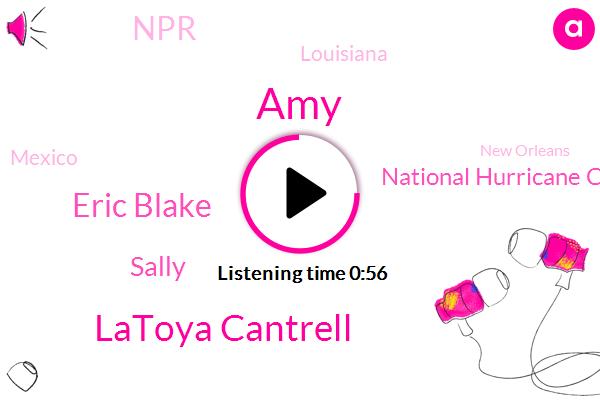 National Hurricane Center,NPR,Hurricane Laura,Hurricane,AMY,Louisiana,Gulf Coast,Latoya Cantrell,Eric Blake,Mexico,New Orleans,Sally,Mississippi