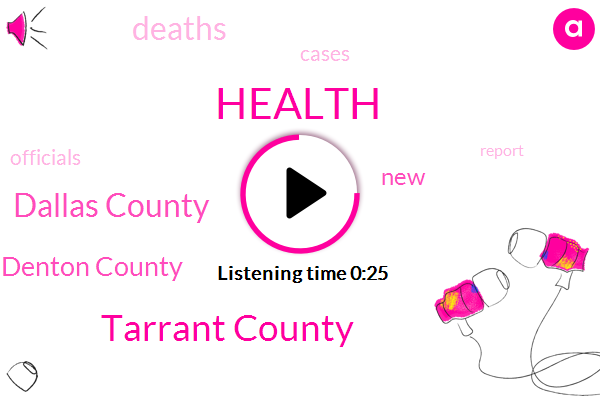 Tarrant County,Dallas County,Denton County,Health