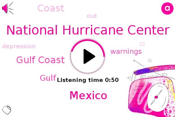 Gulf Coast,National Hurricane Center,Mexico