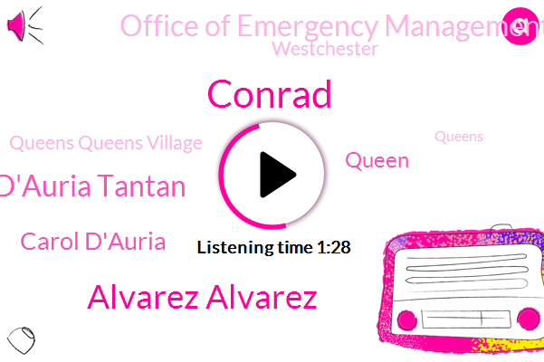 Queens Queens Village,Alvarez Alvarez,Carol D'auria Tantan,Queens,Carol D'auria,Hurricane,Conrad,Westchester,Reporter,Woodhaven,Office Of Emergency Management,Commissioner,Flushing,Queen