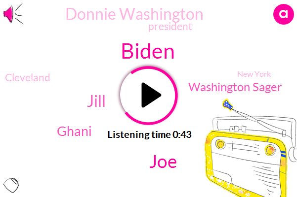 Jill,Biden,Cleveland,President Trump,Assault,Ghani,Washington Sager,Donnie Washington,JOE,New York