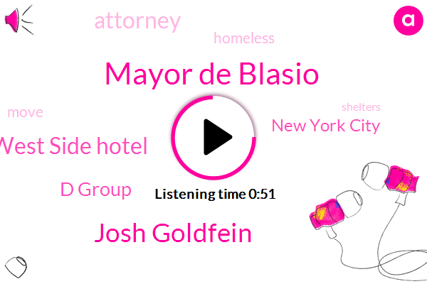 Upper West Side Hotel,Mayor De Blasio,New York City,Josh Goldfein,D Group,Attorney