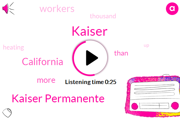 Listen: 37,000 Kaiser workers in California vote to approve October strike