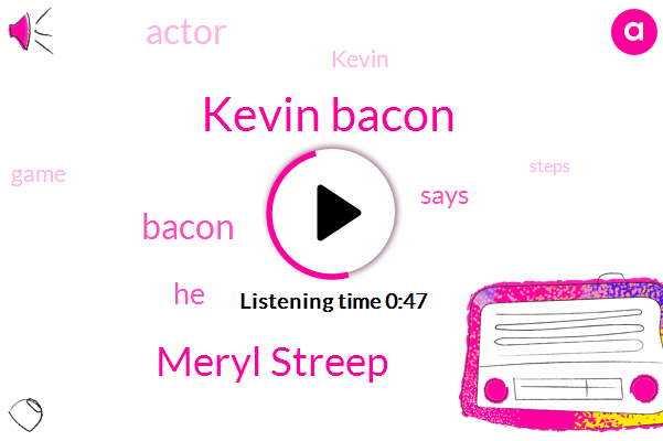 Listen: Kevin Bacon Was Offended by '6 Degrees of Kevin Bacon': I Thought 'They're Making Fun of Me' at First