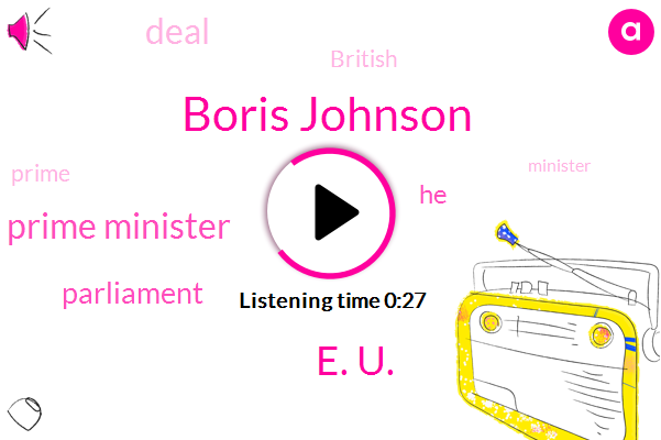Listen: Boris Johnson pushes for election in Brexit battle