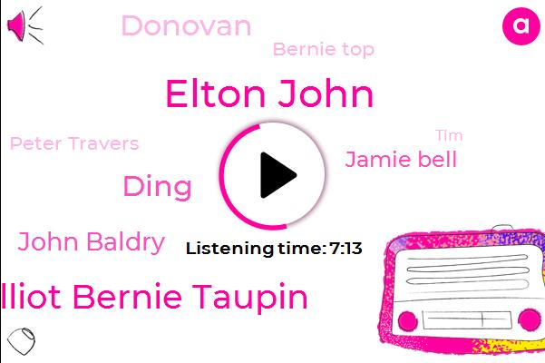 Elton John,Billy Elliot Bernie Taupin,Ding,John Baldry,Rolling Stone Magazine,Madison Square Garden,Jamie Bell,Donovan,Terron Eggerton,Bernie Top,Taron Eggerton,Peter Travers,TIM,United States,Donnie,Tate,Hollywood,Danny,Gina,England