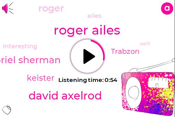 Roger Ailes,David Axelrod,Gabriel Sherman,Keister,Trabzon