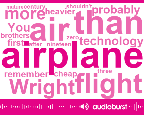 Listen: A New Kind Of Airplane